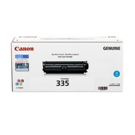 Canon Cyan Toner Cartridges (CART-335C) Genuine
