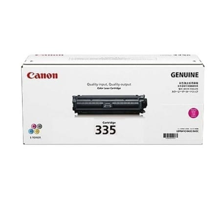 Canon Magenta Toner Cartridges (CART-335M) Genuine