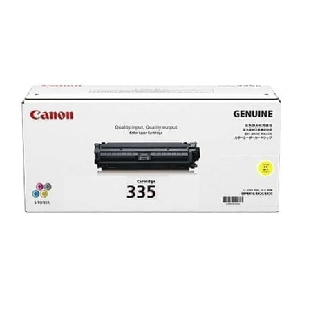 Canon Yellow Toner Cartridges (CART-335Y) Genuine