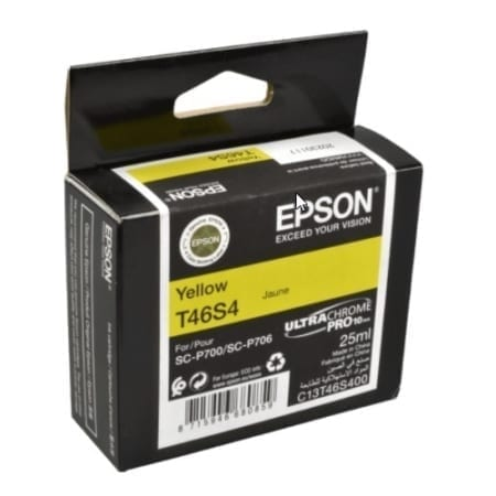 Epson Yellow Ink Cartridges (T46S) Genuine