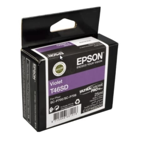 Epson Violet Ink Cartridges (T46S) Genuine
