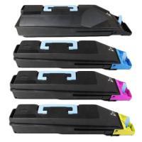 Kyocera Value Pack Toner Cartridges Black Cyan Magenta Yellow Set (TK-859) Compatible