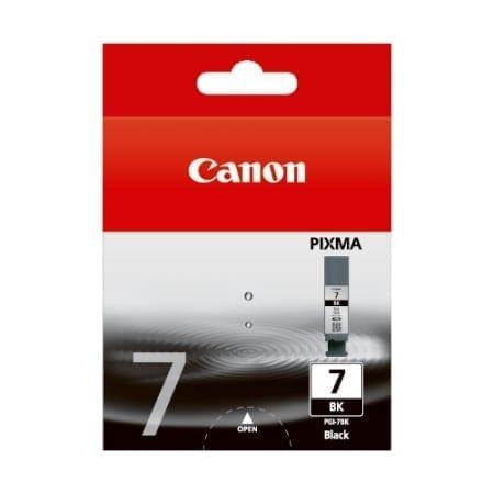 Canon Black Ink Cartridges (PGI-7BK) Genuine