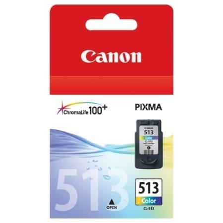 Canon Colour High Yield Ink Cartridges (CL-513) Genuine
