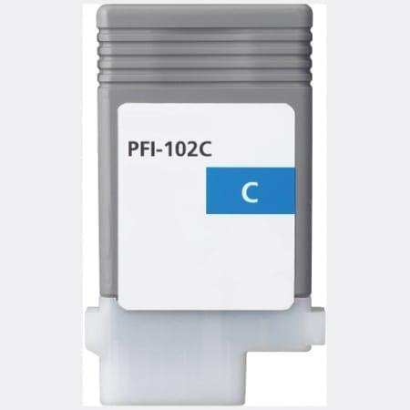 Canon Cyan Ink Cartridges (PFI-102C) Compatible