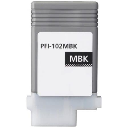 Canon Matte Black Ink Cartridges (PFI-102MBK) Compatible