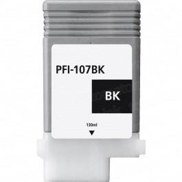 Canon Black Ink Cartridges (PFI-107BK) Compatible