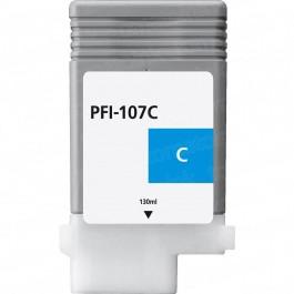 Canon Cyan Ink Cartridges (PFI-107C) Compatible