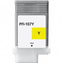 Canon Yellow Ink Cartridges (PFI-107Y) Compatible
