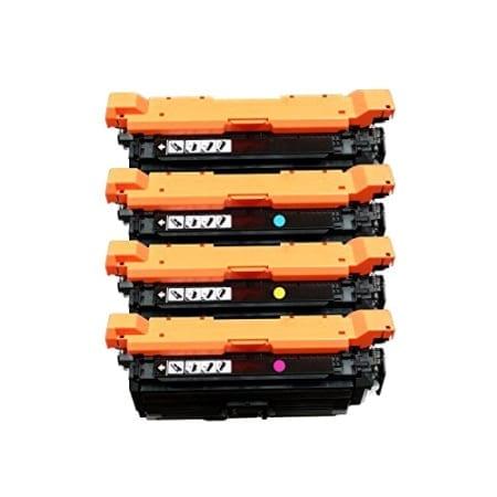 HP 654X / 654A Value Pack 4 Toner Cartridges Black Cyan Magenta Yellow Set (CF330X-CF333A) Compatible