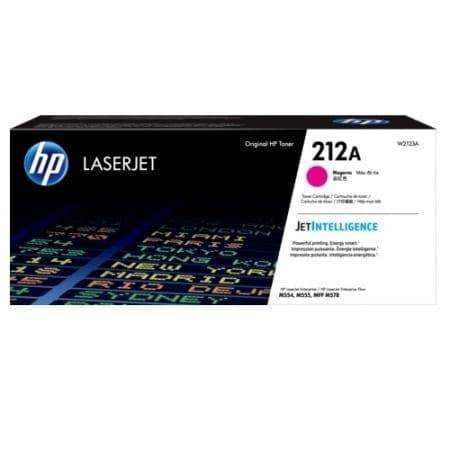 HP 212A Magenta Toner Cartridges (W2123A) Genuine